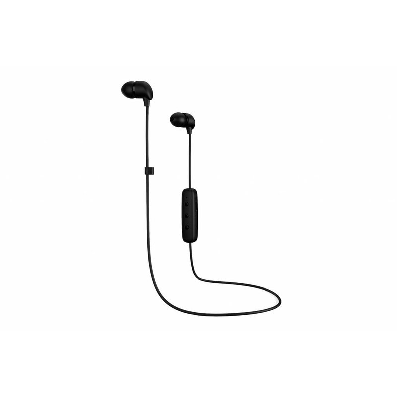 Happy Plugs Zwart Wireless In-Ear Bluetooth Headphones