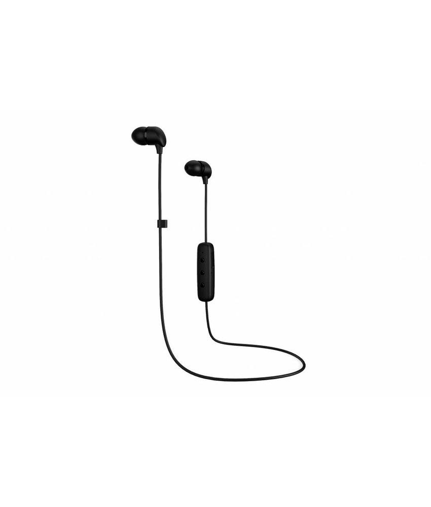 Happy Plugs Zwart Wireless In-Ear Bluetooth Headphones