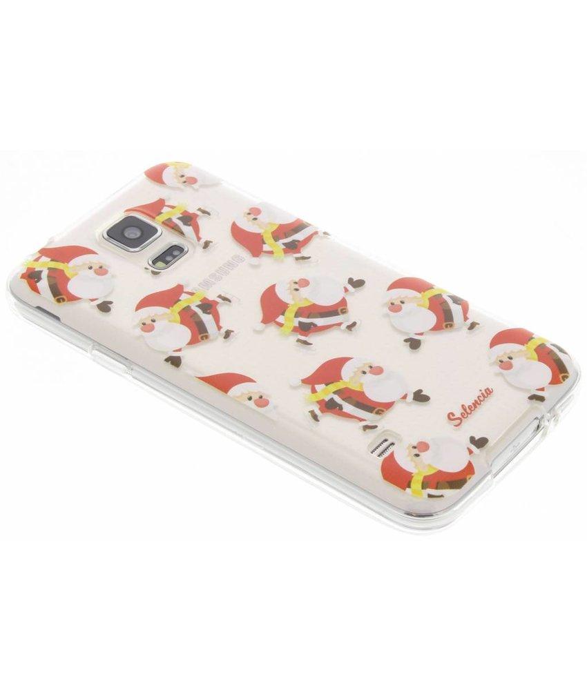 Kerstman TPU hoesje Samsung Galaxy S5 (Plus) / Neo