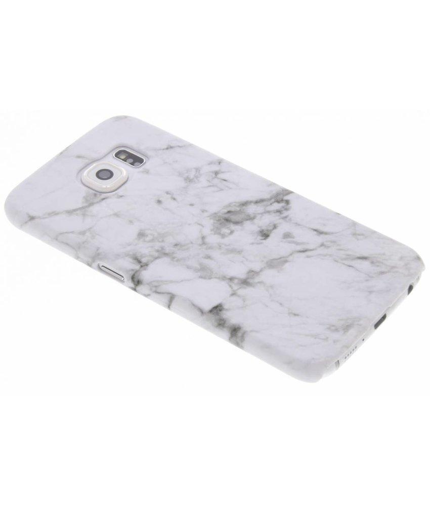 Marmer look hardcase hoesje Samsung Galaxy S6