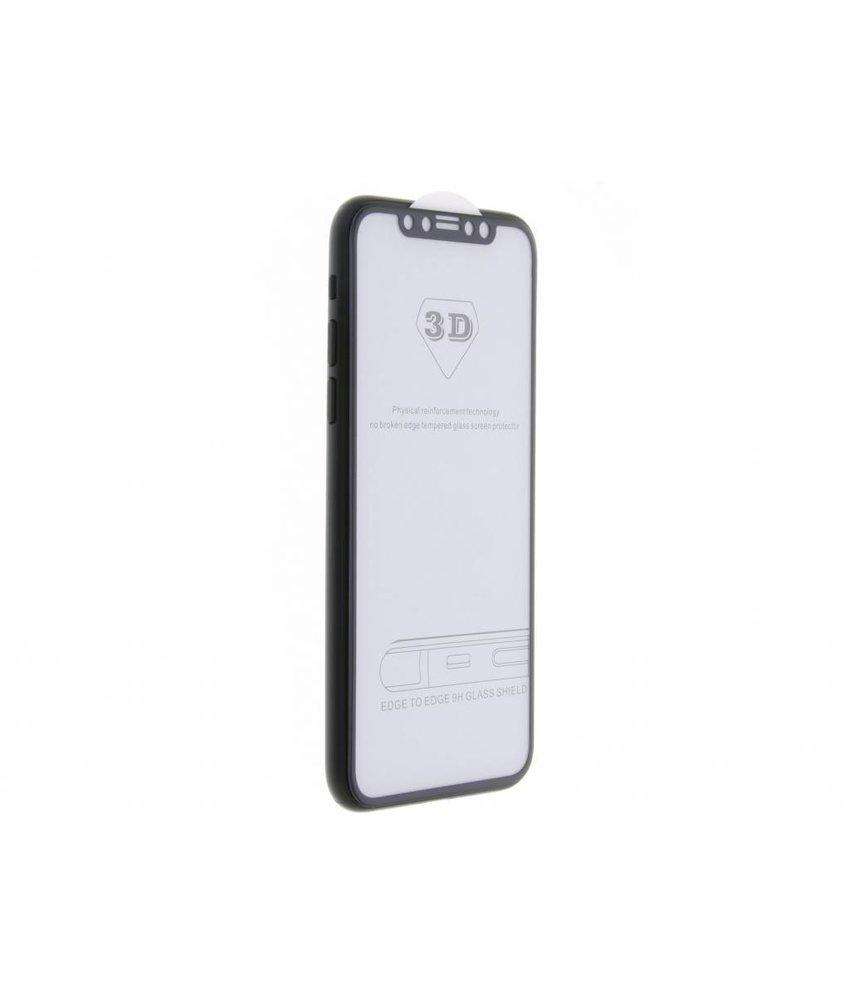 Edge to edge glas screenprotector iPhone X