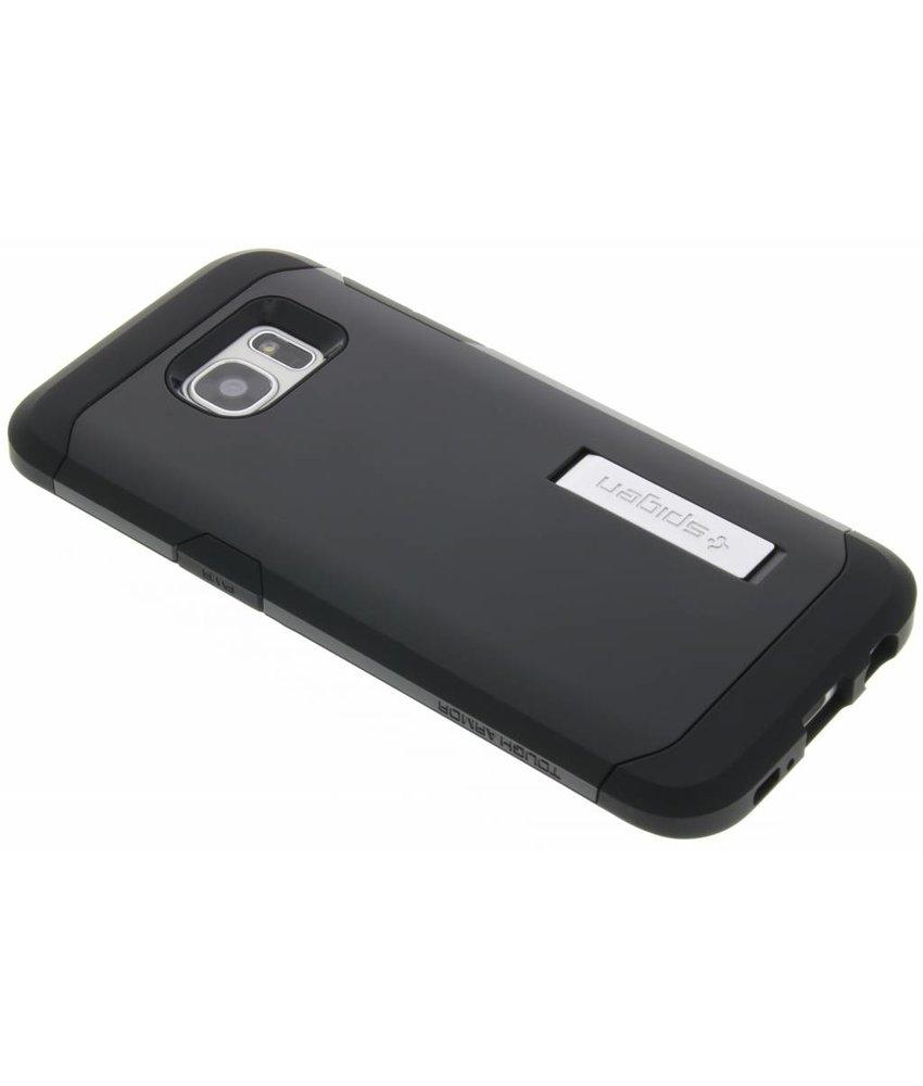 Spigen Tough Armor Case Samsung Galaxy S7 Edge - Smooth Black