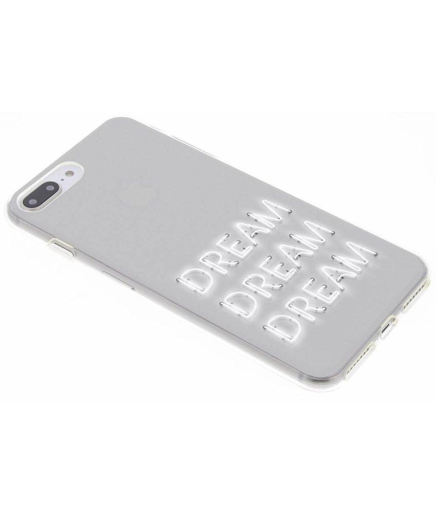 Dream design siliconen hoesje iPhone 8 Plus / 7 Plus