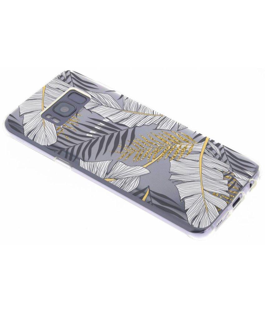 Botanic design siliconen hoesje Samsung Galaxy S8
