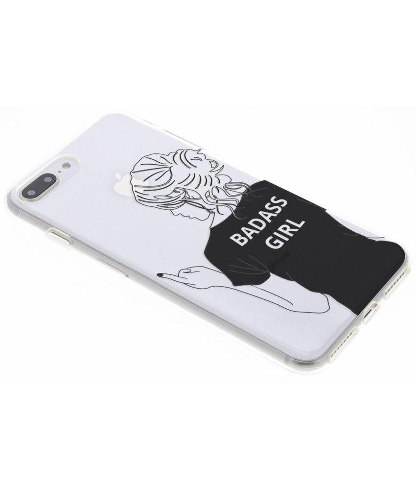 Fashion design siliconen hoesje iPhone 8 Plus / 7 Plus