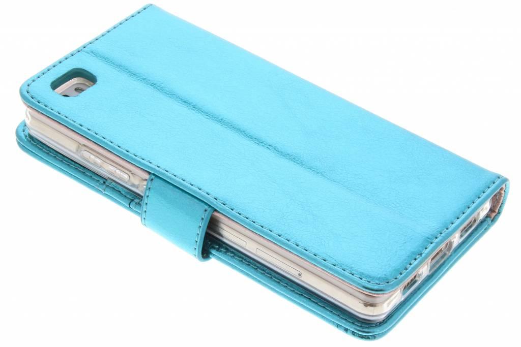 Concepteur Glamour Bleu Case Booktype Tpu Pour Huawei Lite P8 FrbOz