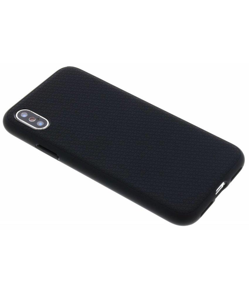 Spigen Zwart Liquid Air Case iPhone X