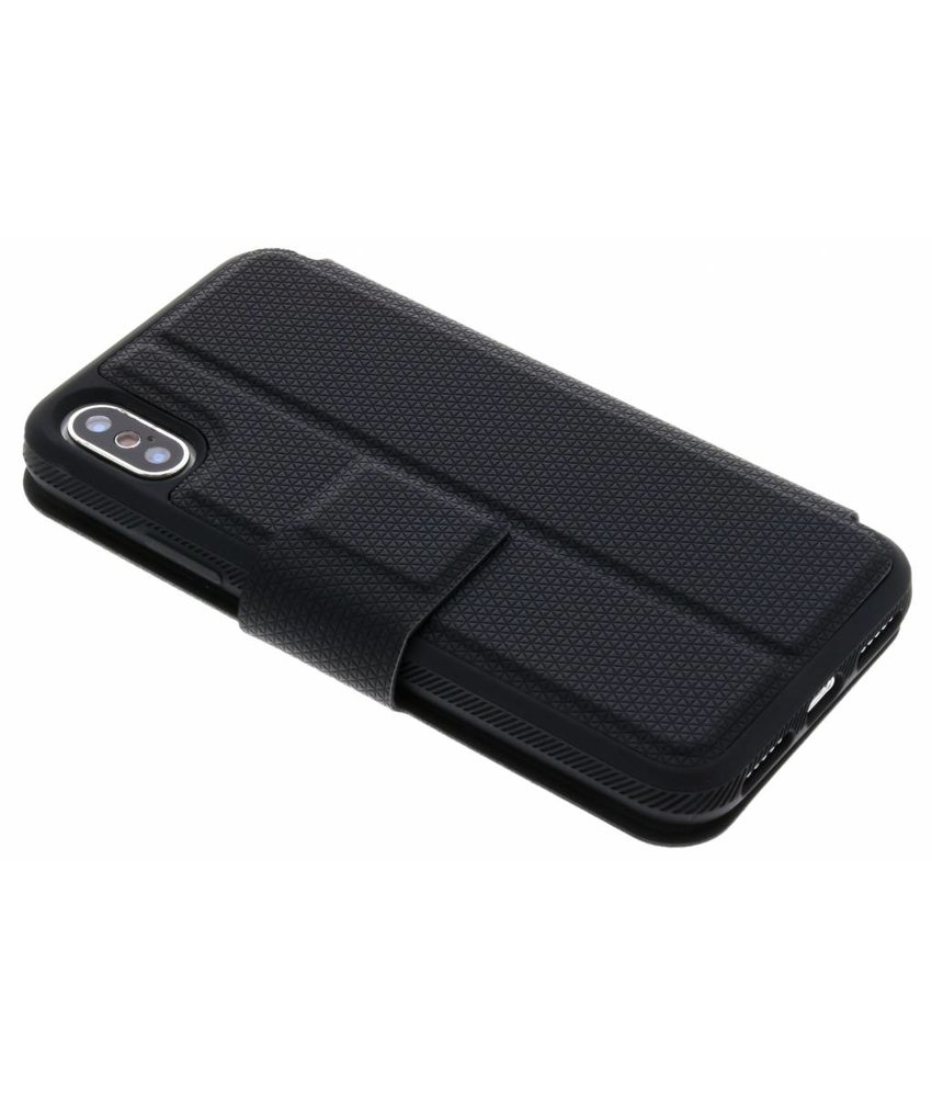 Black Rock Zwart Protective Folio iPhone X