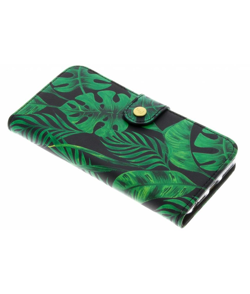 Fabienne Chapot Monstera Leafs Booklet iPhone 8 / 7 / 6 / 6s