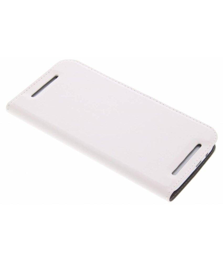 Wit Effen Booklet HTC One M8 / M8s
