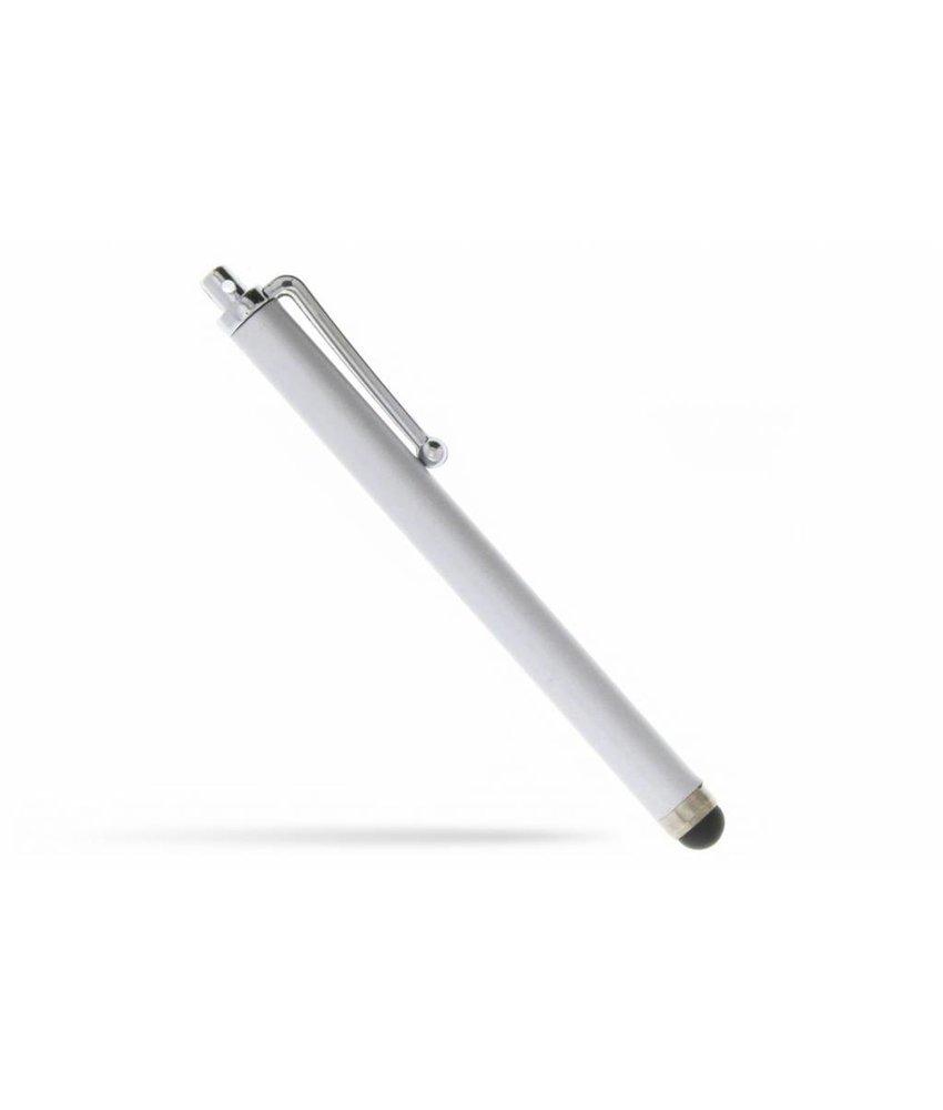 Stylus pen met clip - Zilver
