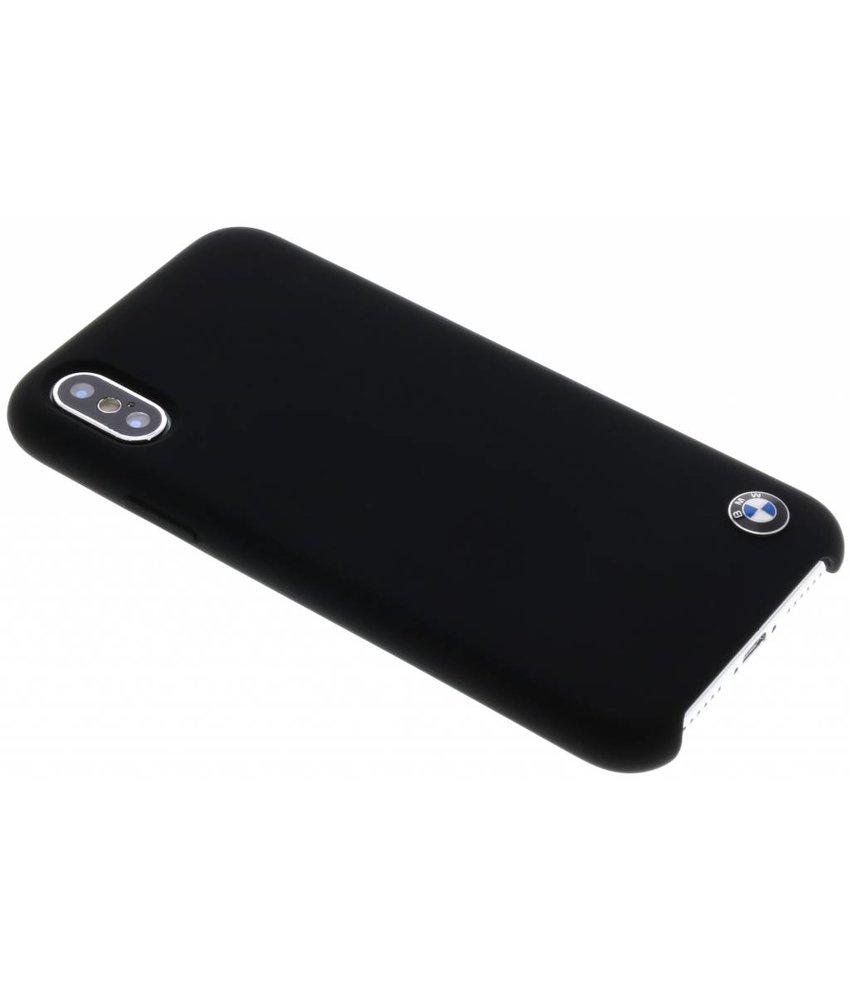 BMW Zwart Silicone Hard Case iPhone X