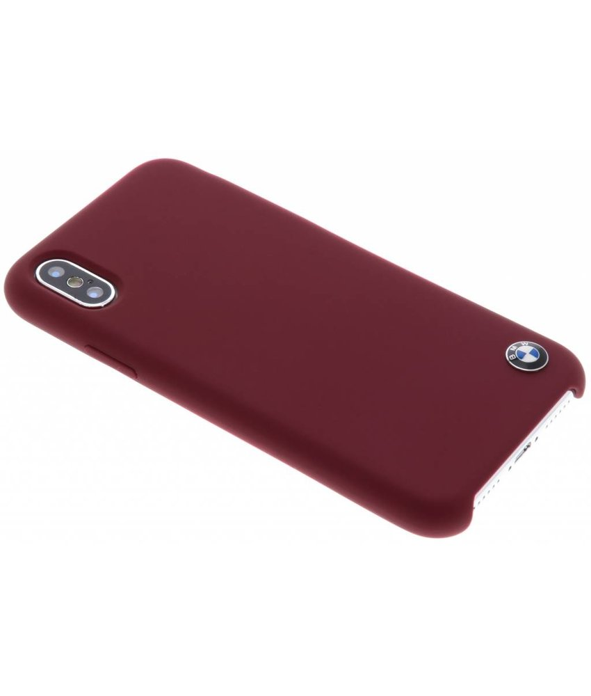 BMW Rood Silicone Hard Case iPhone X