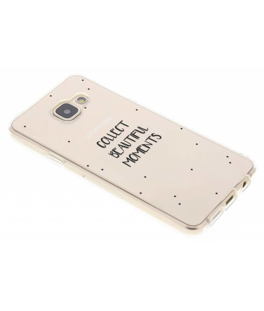 Quote design TPU hoesje Samsung Galaxy A3 (2016)