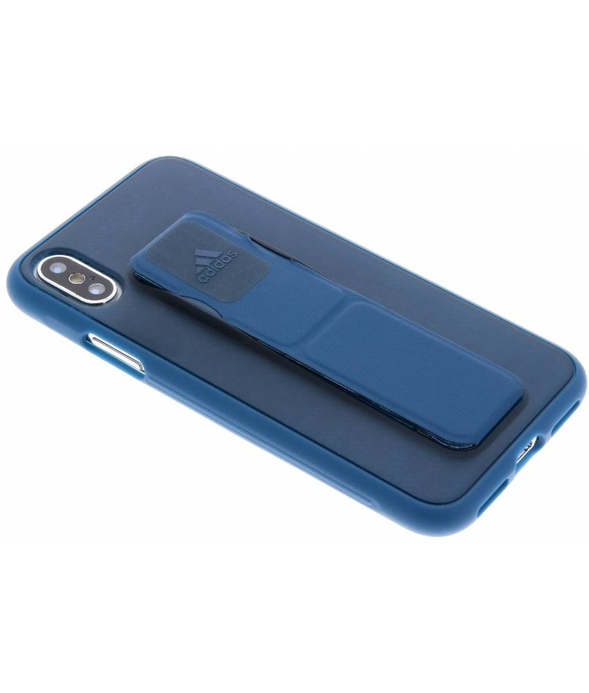 adidas Sports Blauw Grip Case iPhone Xs / X