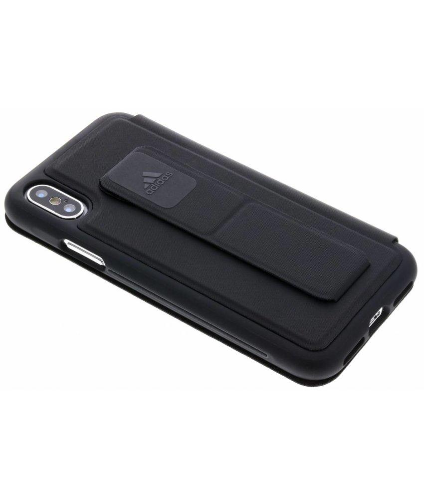 adidas Sports Zwart Folio Grip Case iPhone X
