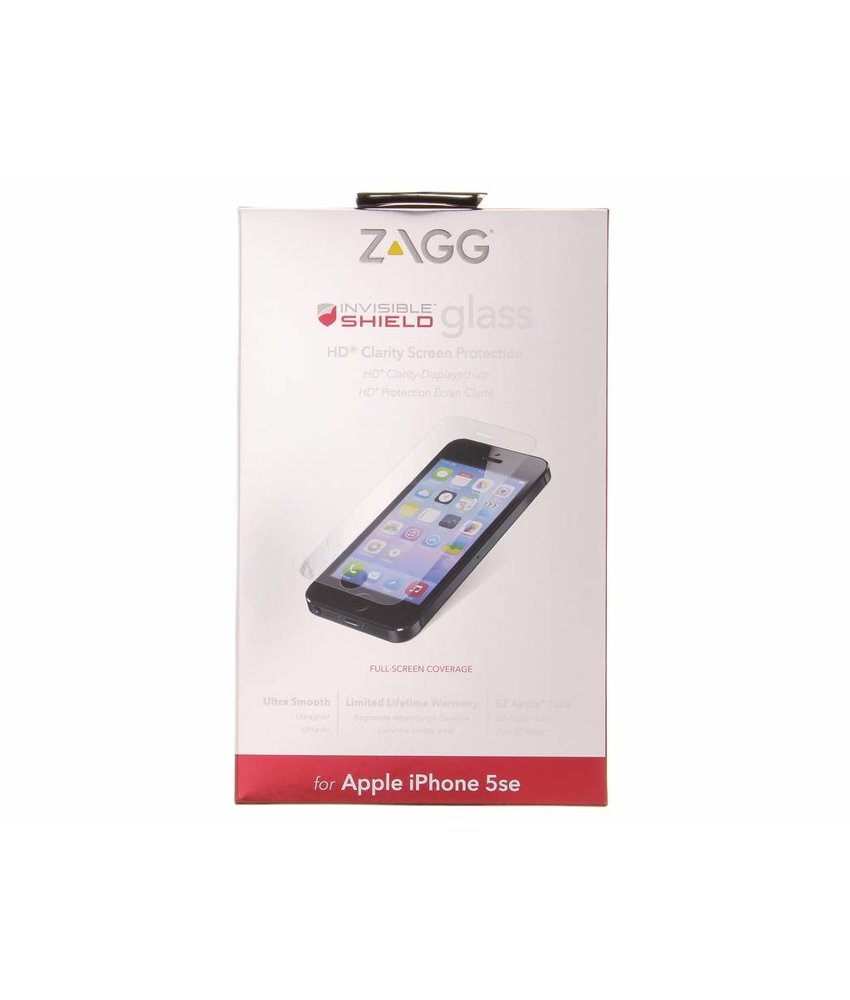 ZAGG Invisible Shield Glass Screenprotector iPhone 5 / 5s / SE