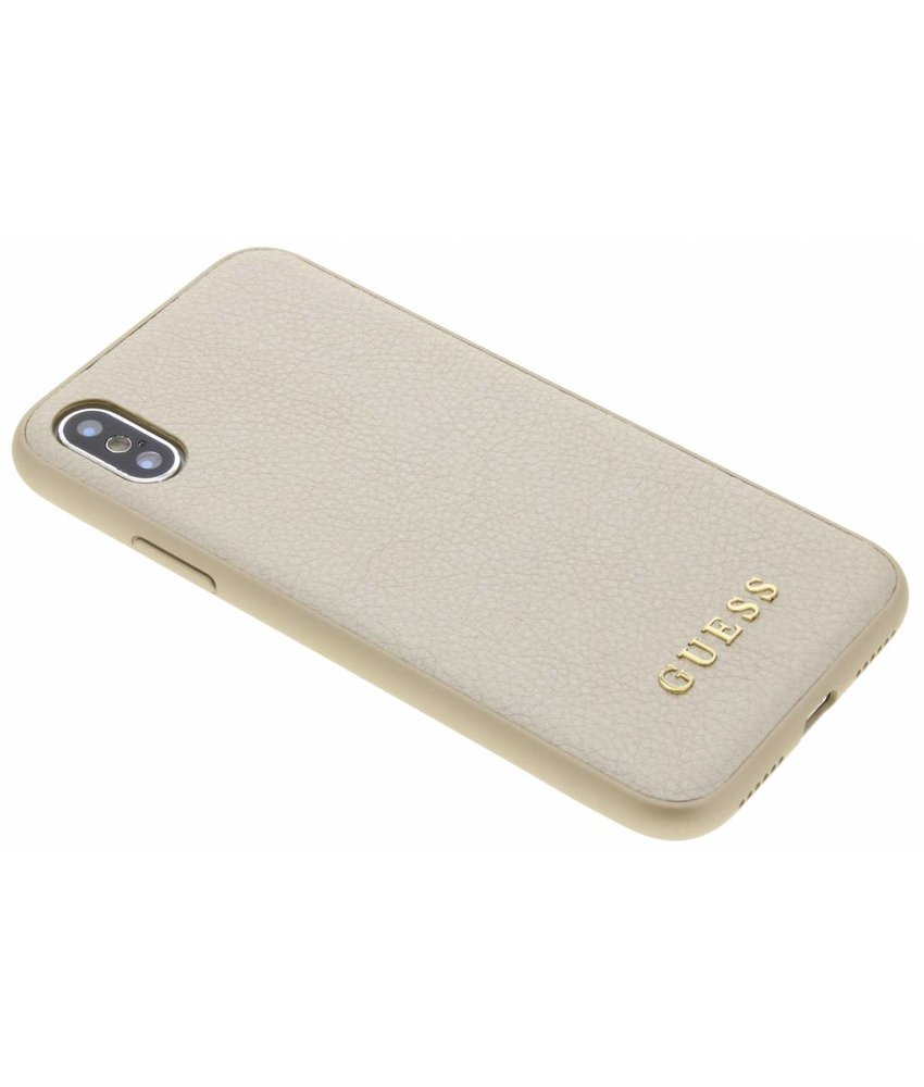 Guess Goud iriDescent Hardcase iPhone Xs / X