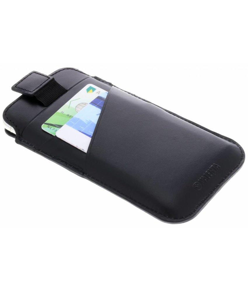 Valenta Zwart Pocket Premium iPhone X