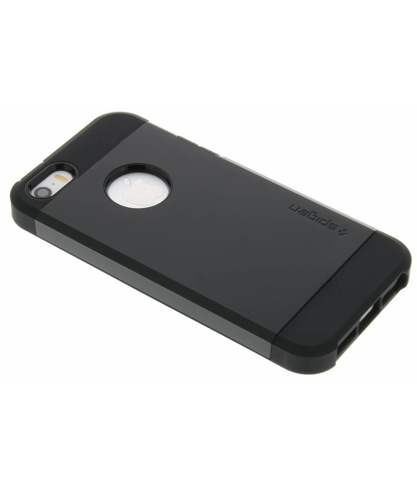Spigen Tough Armor Case iPhone 5 / 5s / SE - Zwart