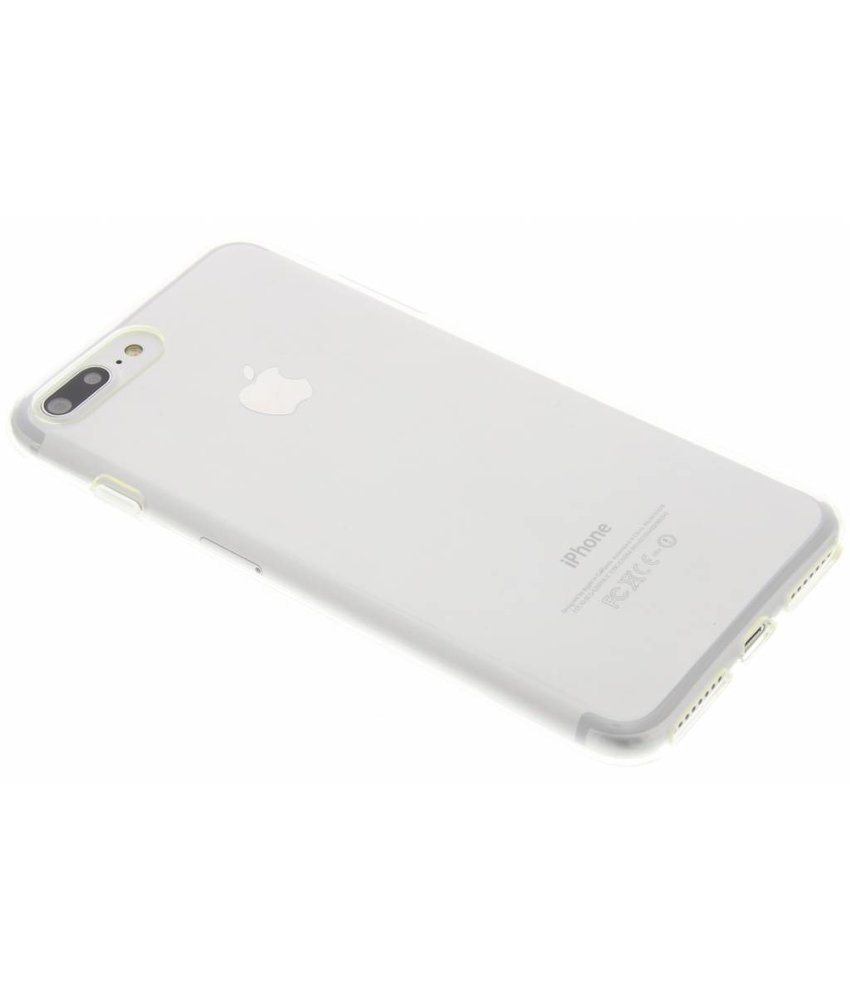 Transparant gel case iPhone 8 Plus / 7 Plus