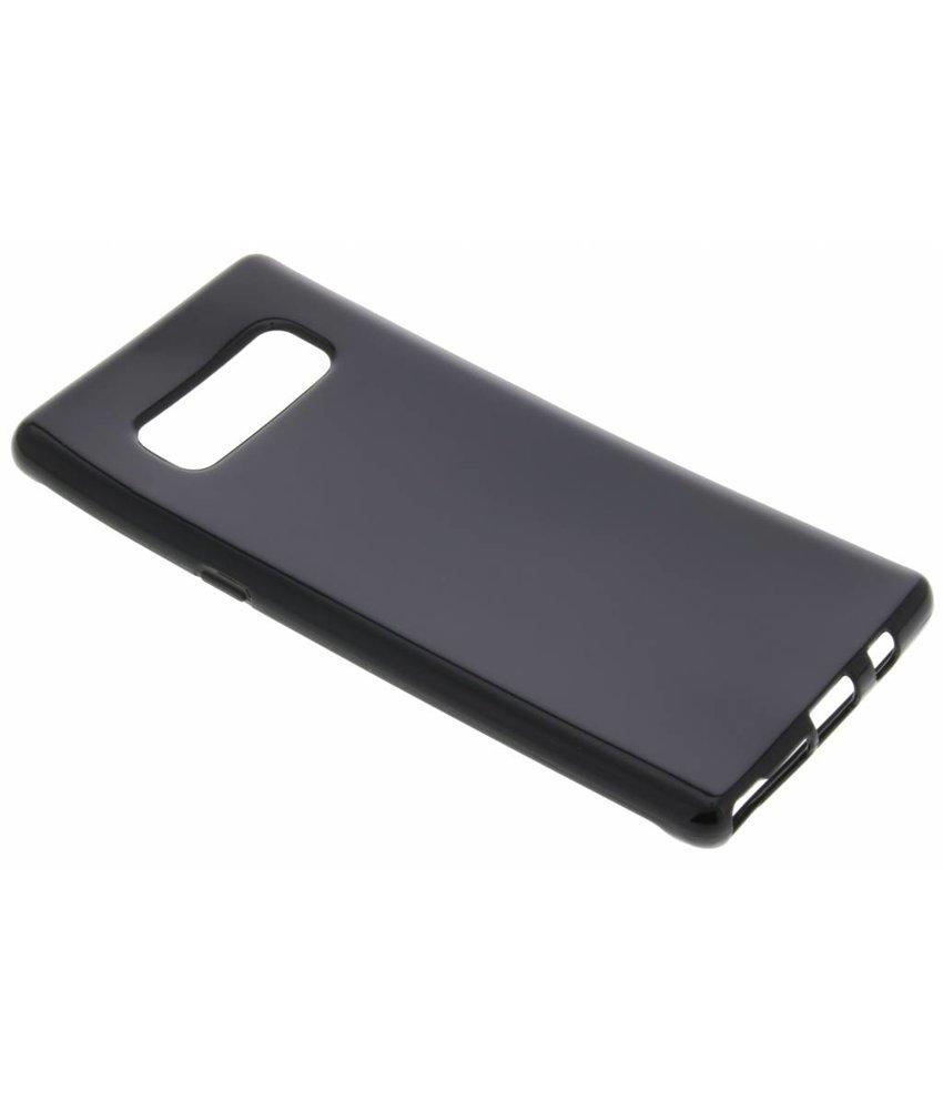 Zwart gel case Samsung Galaxy Note 8