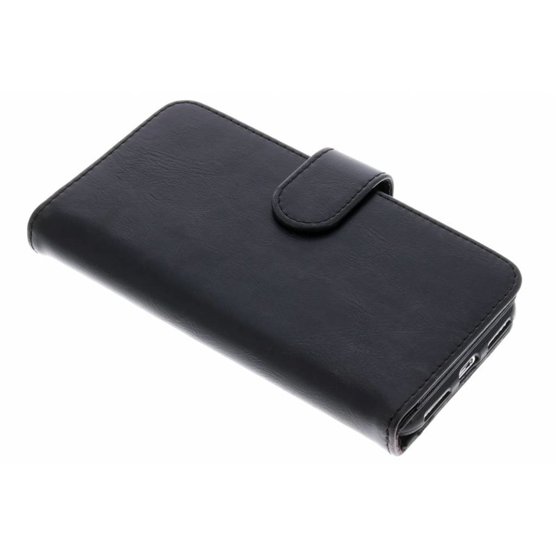 Zwart 11-vaks Wallet Case iPhone Xs / X