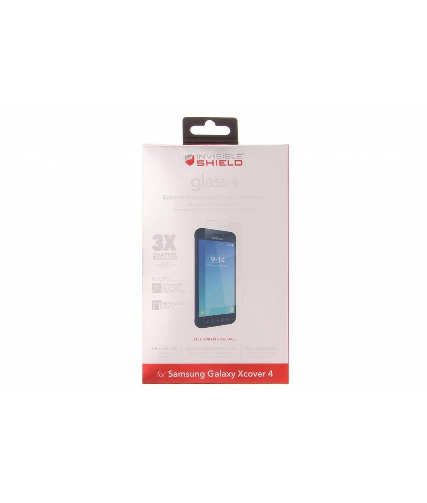 ZAGG InvisibleShield Glass+ Screenprotector Galaxy Xcover 4