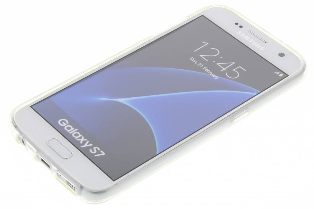 Cas Tpu Aquarelle Fleur Samsung Galaxy S7 dSu153
