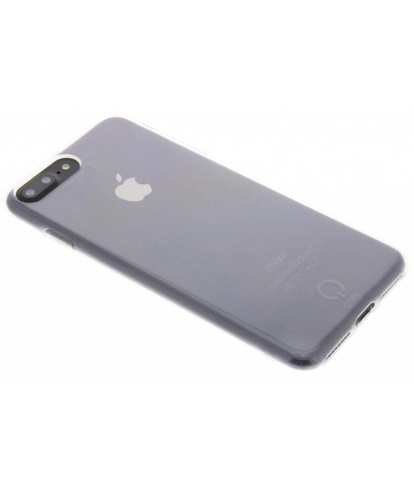 Qtrek Transparant Gel Case iPhone 8 Plus / 7 Plus