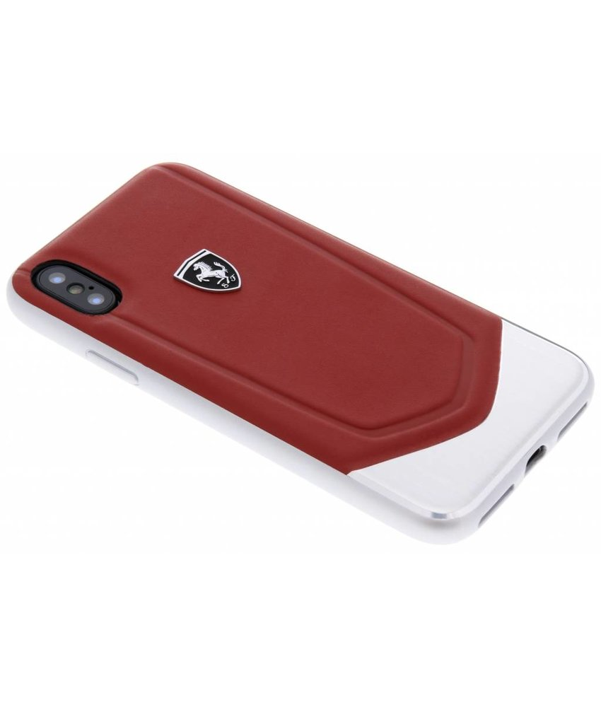 Ferrari Heritage Aluminium V Stripe Hard Case iPhone Xs / X