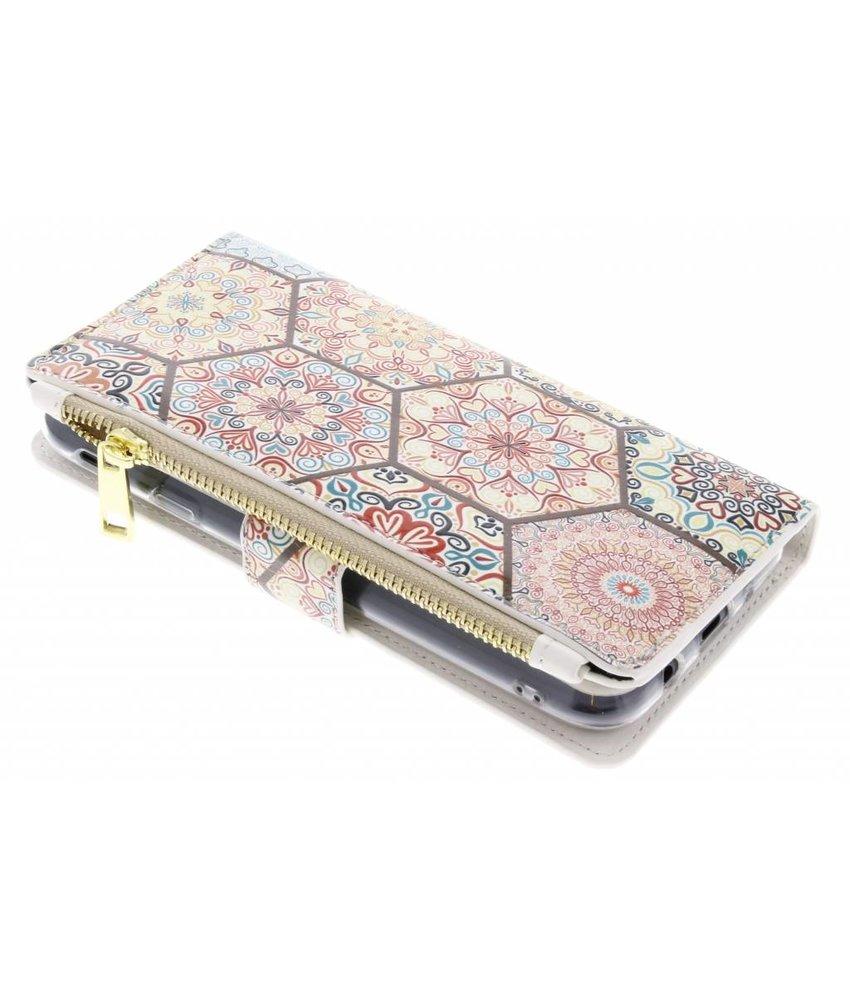 Design luxe portemonnee hoes Samsung Galaxy J7 (2017)