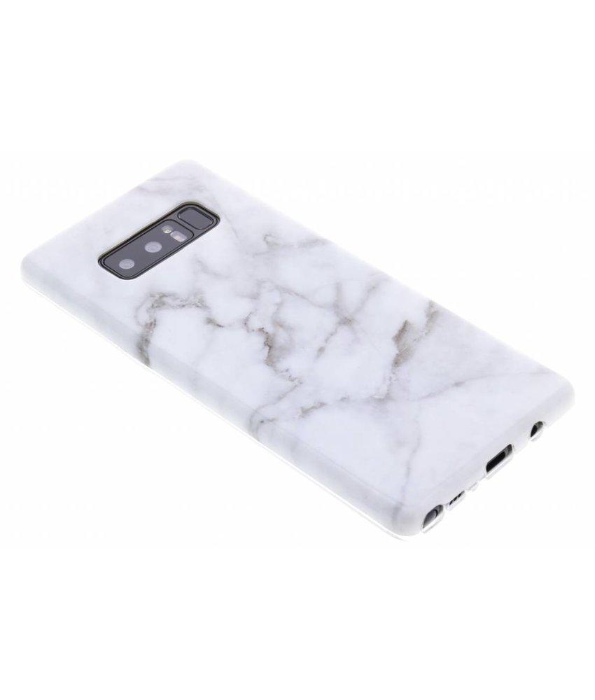 Marmer siliconen hoesje Samsung Galaxy Note 8