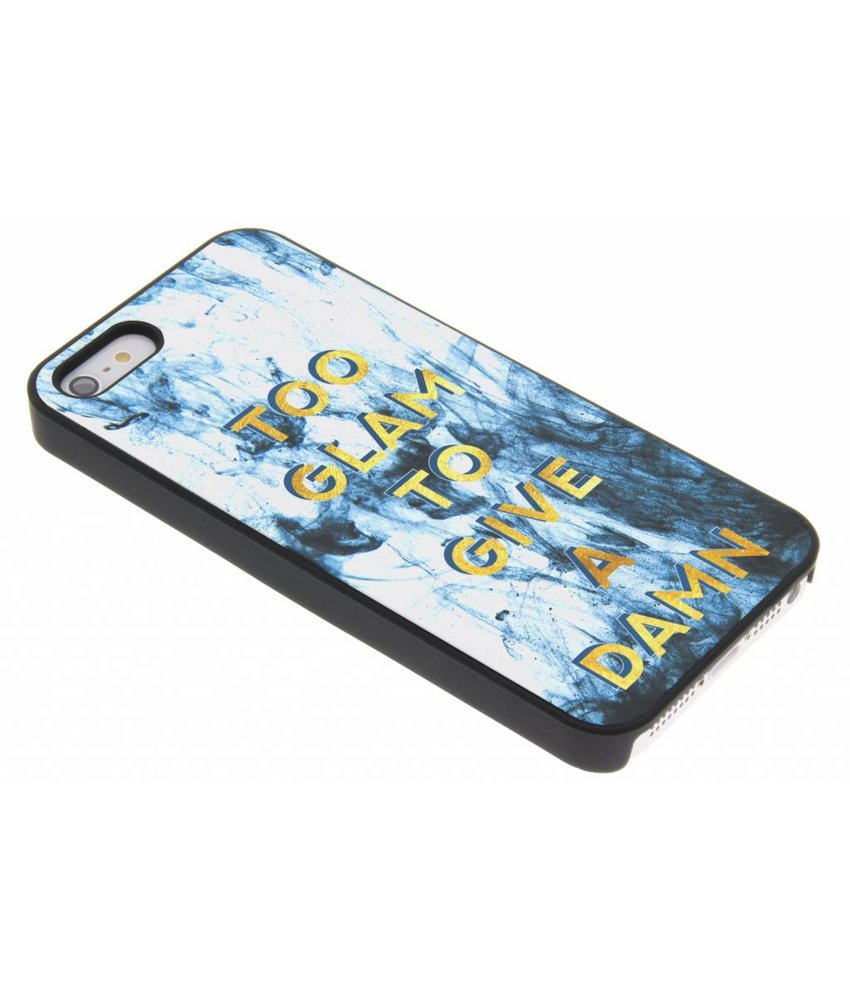 Quote design hardcase hoesje iPhone 5 / 5s / SE
