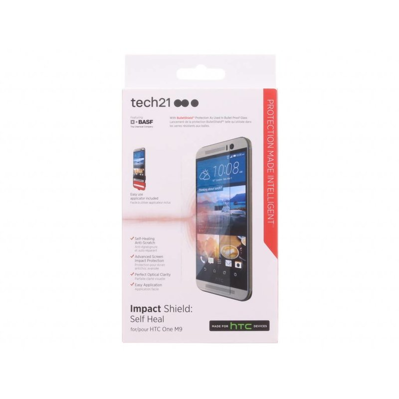 Tech21 Screenprotector Impact Shield Self Heal HTC One M9