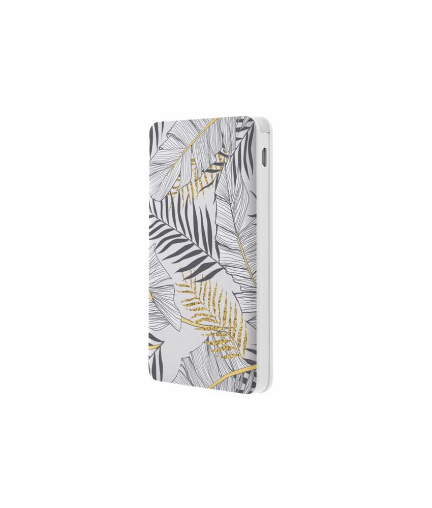 Botanic design Powerbank - 5000 mAh