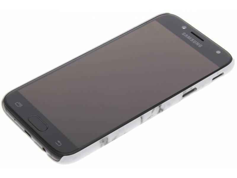 Samsung Galaxy J5 (2017) hoesje - Wit marmer look hardcase