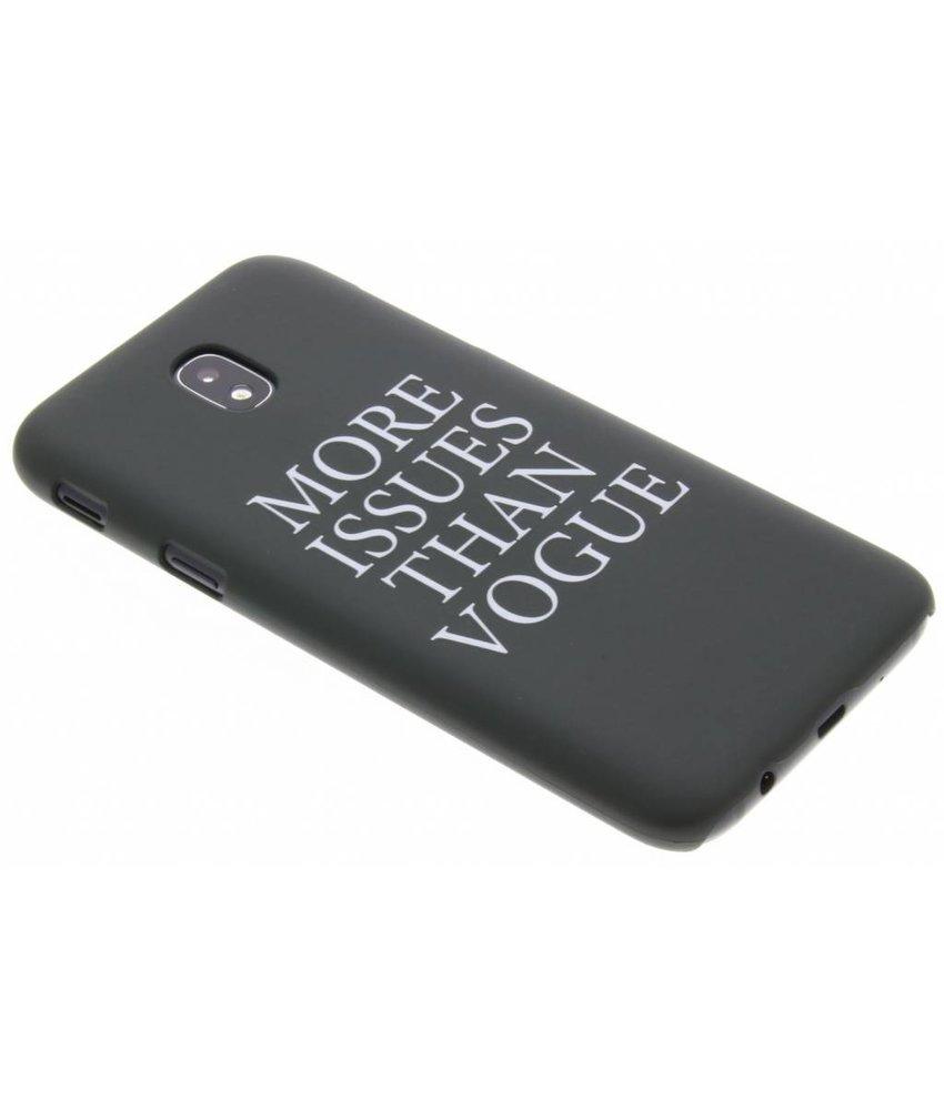 Quote design hardcase hoesje Samsung Galaxy J5 (2017)