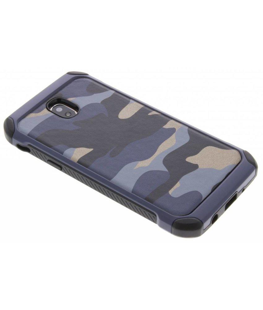Blauw Army defender hardcase hoesje Samsung Galaxy J5 (2017)