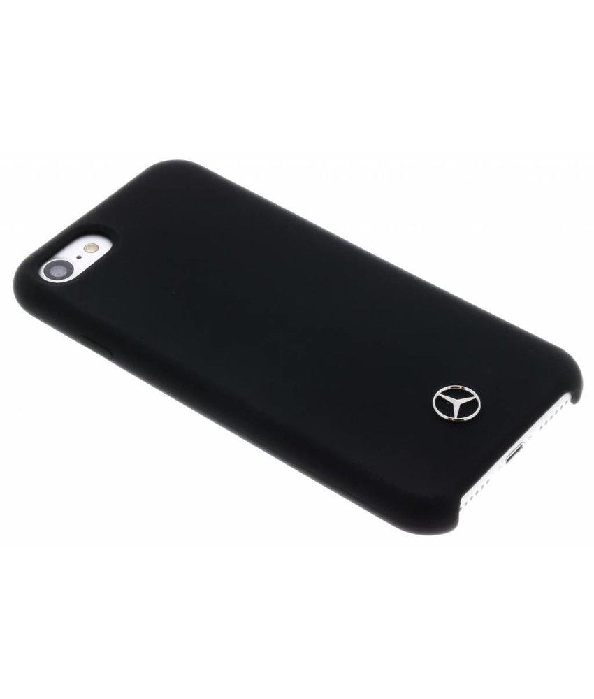 Mercedes-Benz Zwart Silicone Case iPhone 8 / 7 / 6 / 6(s)