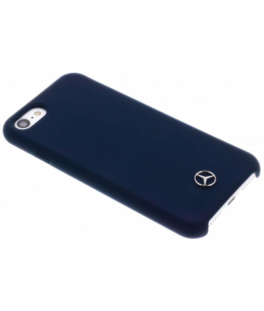 Mercedes-Benz Blauw Silicone Case iPhone 8 / 7 / 6 / 6(s)