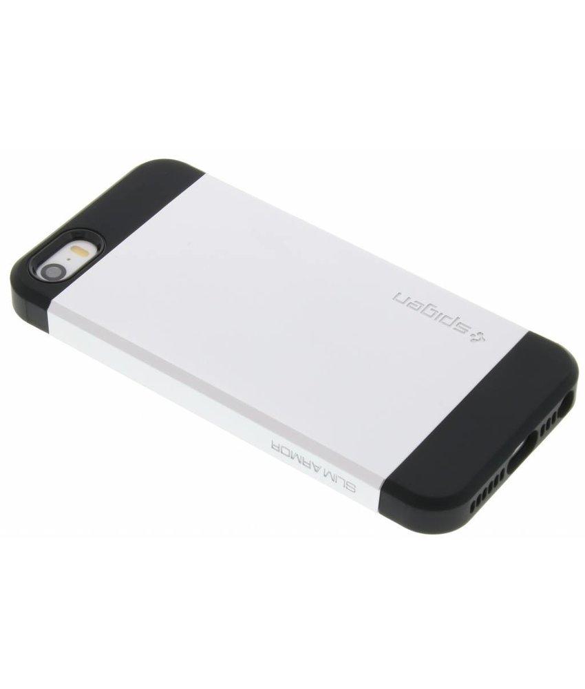 Spigen Slim Armor Case iPhone 5 / 5s / SE - Zilver