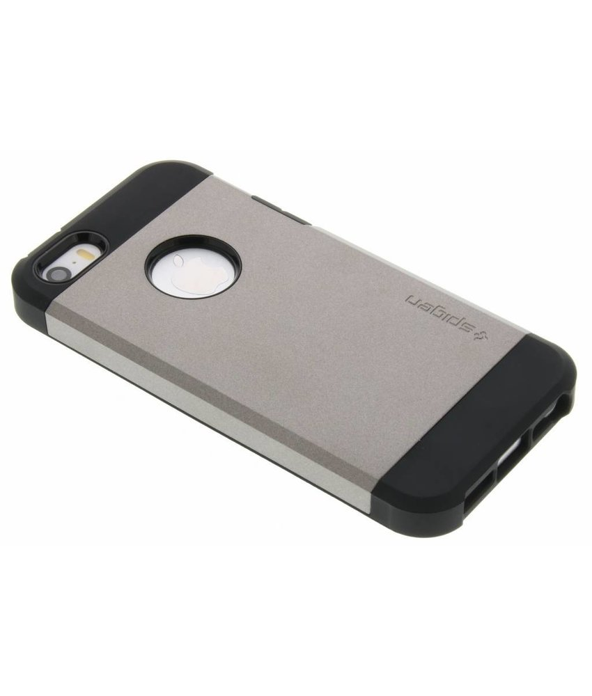 Spigen Grijs Tough Armor Case iPhone 5 / 5s / SE