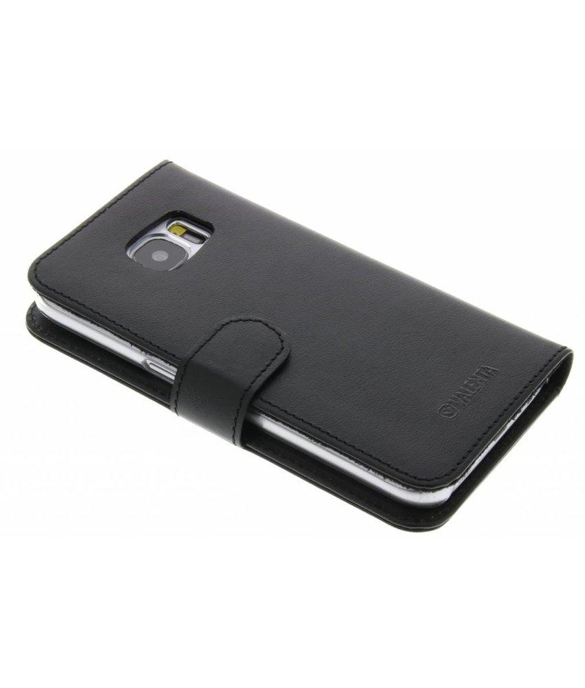 Valenta Zwart Booklet Classic Luxe Samsung Galaxy S7
