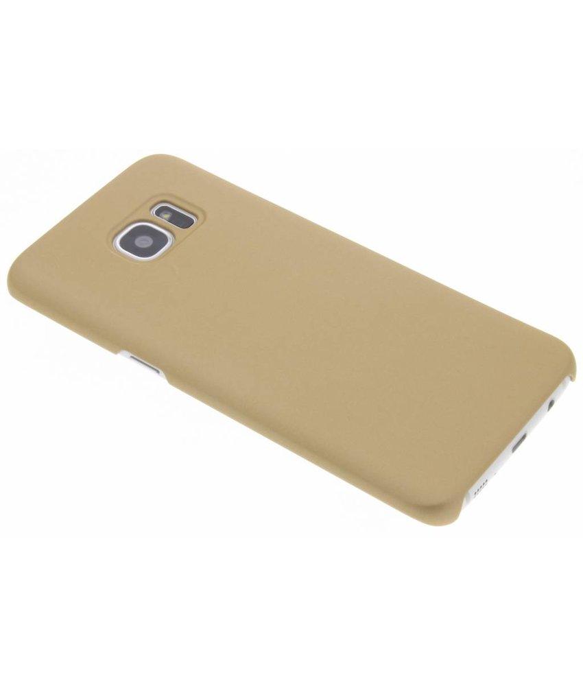 Goud luxe hardcase hoesje Samsung Galaxy S7 Edge