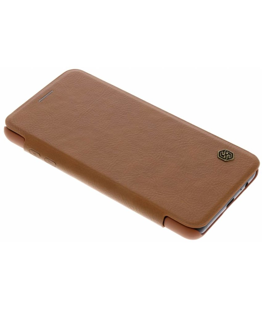 Nillkin Bruin Qin Leather slim booktype Samsung Galaxy A8 (2018)