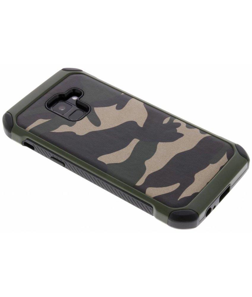 Army defender hardcase hoesje Samsung Galaxy A8 (2018)
