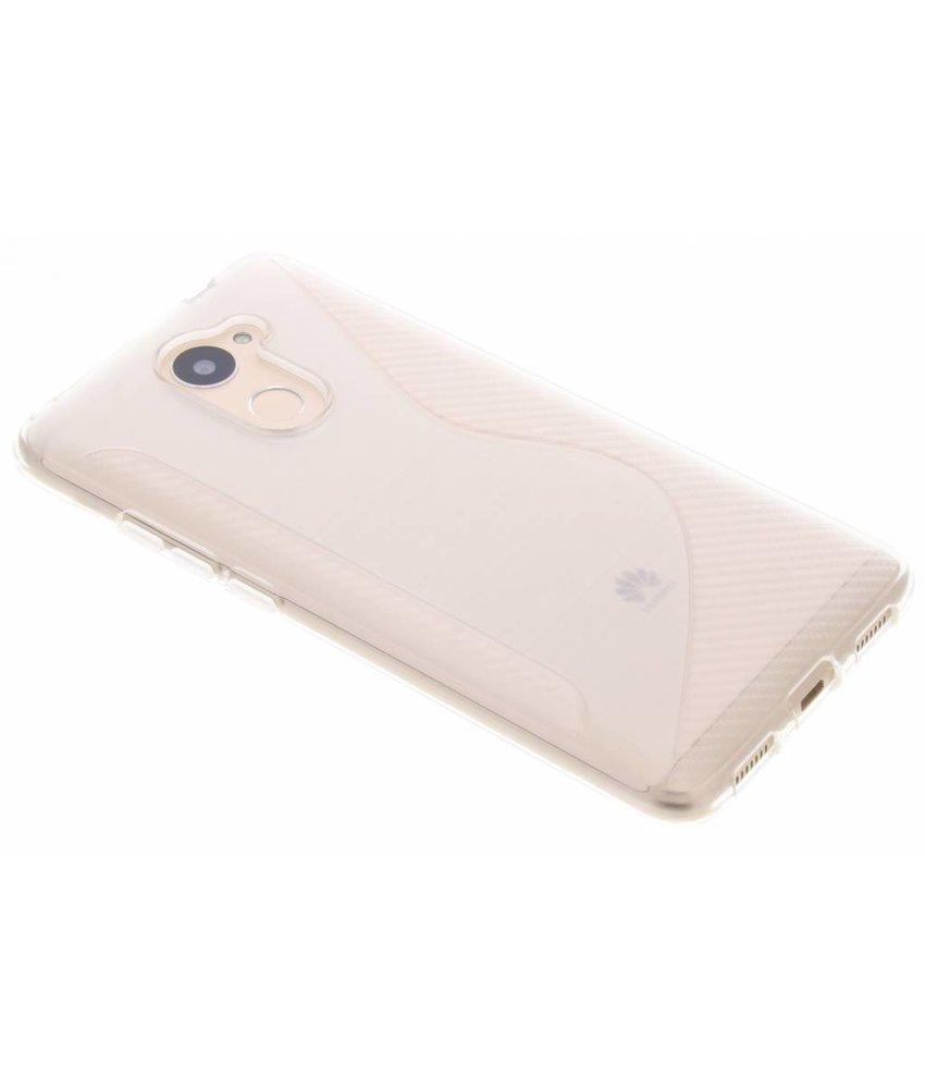Transparant S-line TPU hoesje Huawei Y7 Prime
