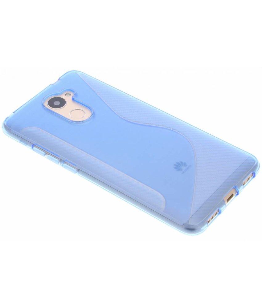 Blauw S-line TPU hoesje Huawei Y7 Prime