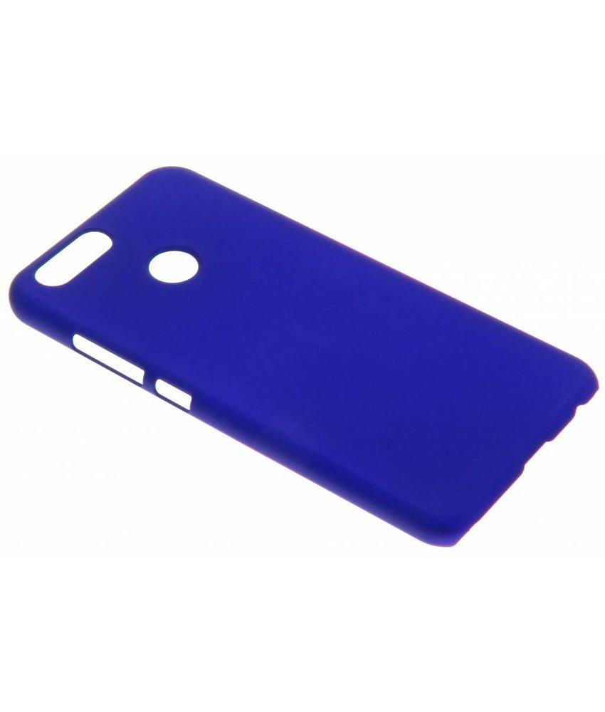Blauw effen hardcase hoesje Huawei Nova 2